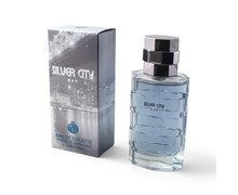 ادکلن مردانه 100 میل EAU TOILETTE SILVER CITY MAN REAL TIME